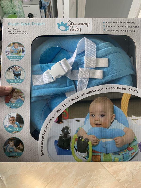 baby plush seat insert