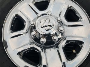 4 New takeoffs Dodge Ram wheels and tires 18 inches for Sale in Auburndale, FL