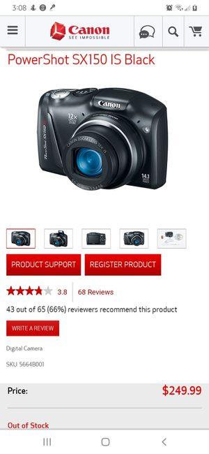 Canon camera for Sale in Avon, CT