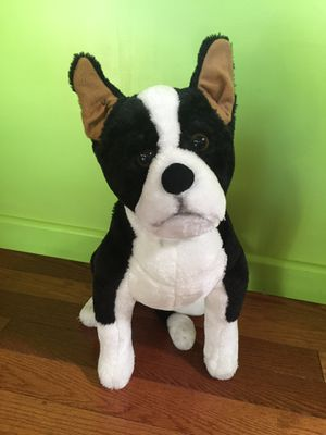 Melissa and Doug life size Boston Terrier Dog Stuffed Animal Stuffie for Sale in Las Vegas, NV