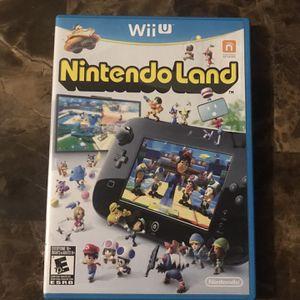 Nintendo Land (Wii U, 2012) for Sale in Carpentersville, IL
