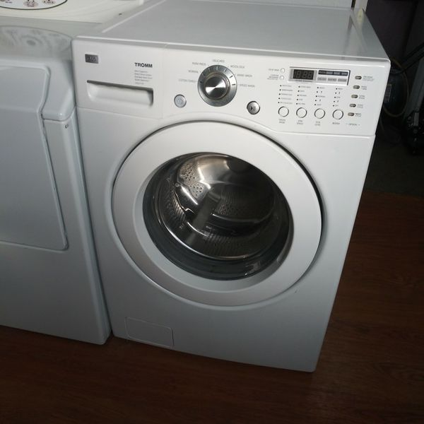 LG Front Load Washer Comes With A 30-day Warranty