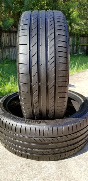 225/40/19 CONTINENTAL SPORT CONTACT SSR for Sale in Tampa, FL