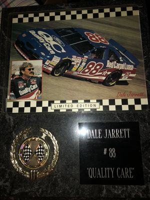 Dale Jarrett Limited Edition Plaque for Sale in Winder, GA