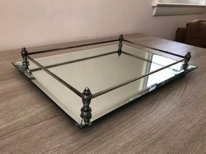 Rectangular Mirror Tray ( price negotiable ) for Sale in Raleigh, NC