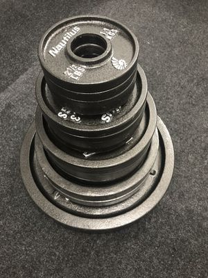 Nautilus olympic weight set 210lbs for Sale in Beaverton, OR