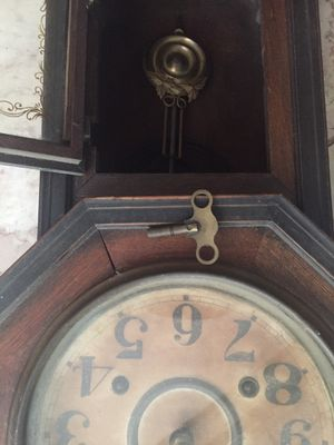 Very very antique wall clock for Sale in Vallejo, CA