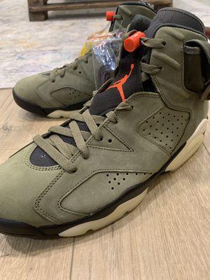 Nike Air Jordan 6 Retro Travis Scott Sz 10 Brand New for Sale in Fremont, CA