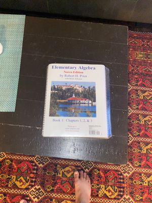 Intermediate Algebra for norco college students for Sale in Corona, CA