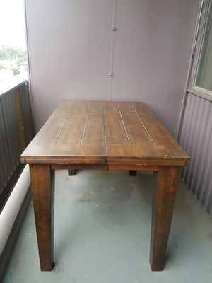 Butterfly dining room wood table for Sale in West Los Angeles, CA