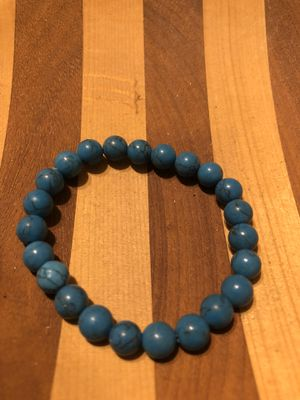 Howlite turquoise stone bracelet for Sale in Stockton, CA