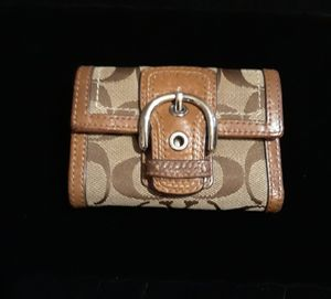 Signature Coach Tri-Fold Buckle Wallet for Sale in Glen Burnie, MD