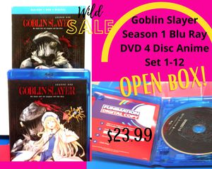 Goblin Slayer 4 discs: Blue Ray+DVD. for Sale in Maplewood, MN