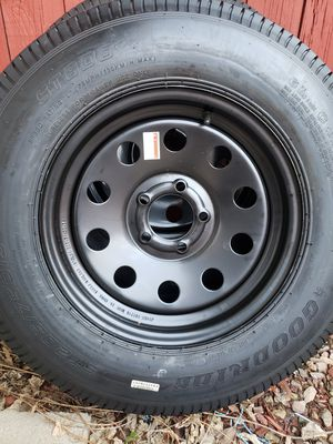 (2) new black trailer tires for Sale in Perris, CA