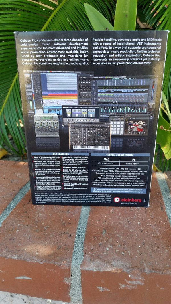 Cubase pro 8.5 **offers are always welcome**