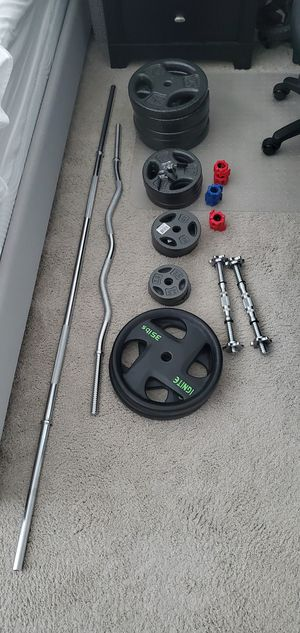 Weight 290 lbs of plates for Sale in Rockville, MD