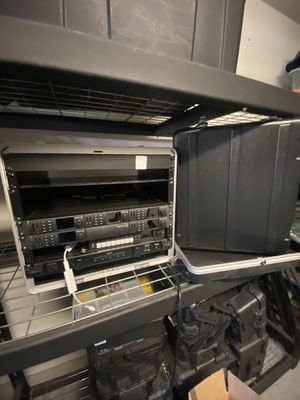 Blackmagic design studio set up 5 minis and atm switch for Sale in Jurupa Valley, CA
