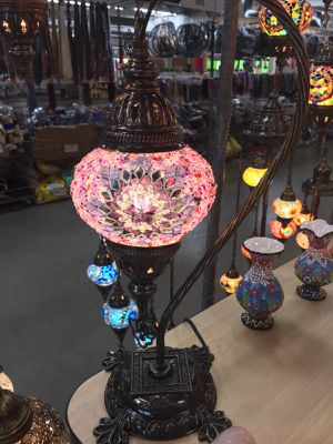 Handmade Turkish lamps for Sale in Hialeah, FL