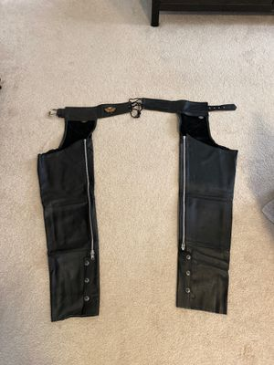Mens Harley Davidson chaps for Sale in Aspen Hill, MD