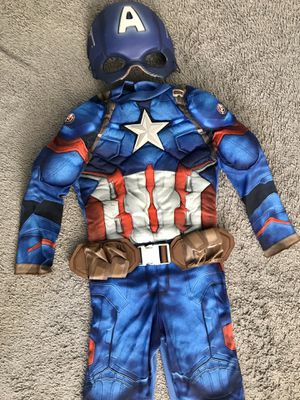 Captain America costume 4 to 6x for Sale in Canton, MI