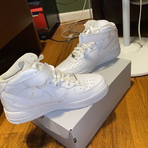 Mid Air Force 1s. Worn 1 Time for Sale in Washington, DC