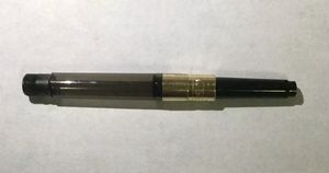 Montblanc Gold Trim Fountain Pen Converter Fits Most Montblanc Pens German for Sale in Brooklyn, NY