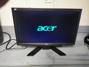 "20"" Acer computer monitor lcd for Sale in Las Vegas, NV"