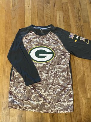 Men's Green Bay packers camo shirt for Sale in Staten Island, NY