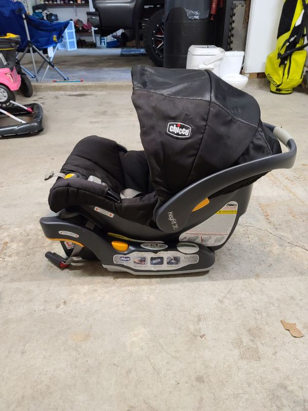 Car seat with THREE bases