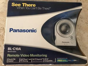 Panasonic BL-C10A Wired Network Camera. Remote Video Monitoring for Sale in Henderson, NV