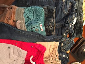 Zara gap French brands 2t-3t toddler 9pairs of pants for Sale in Reston, VA