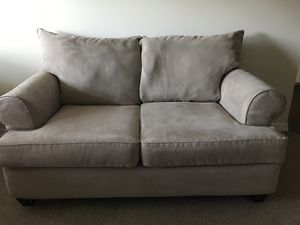Comfy light beige Sofa, loveseat and TWO automans!! for Sale in TEMPLE TERR, FL