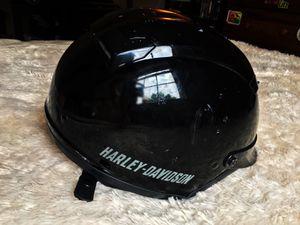 Harley Davidson Half DOT Motorcycle Helmet Black XL for Sale in Aberdeen, MD
