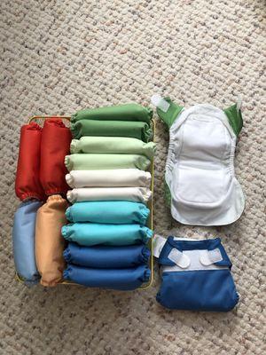 Bum genius newborn cloth diapers XS for Sale in Gaithersburg, MD