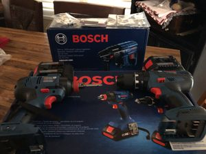 New Bosch cordless tools for Sale in Payson, AZ
