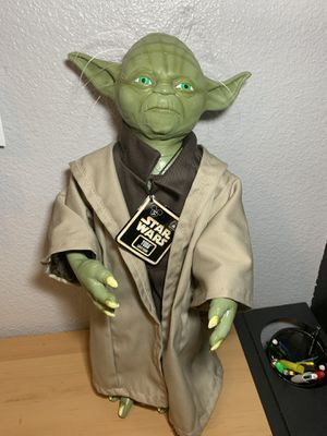 Latex Yoda figurine for Sale in Channelview, TX
