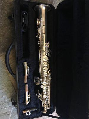 Silver soprano saxophone for Sale in Spring, TX