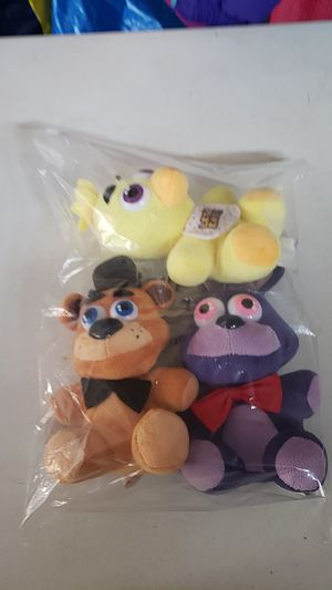 5 Nights At Freddie's Plushies for Sale in Snohomish, WA