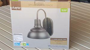 New light sconce in bix6 for Sale in Millbrook, AL