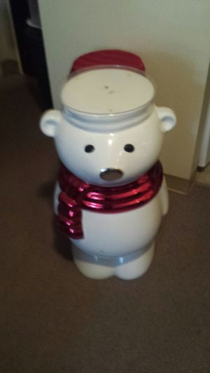 Christmas bear stand for Sale in Fort Smith, AR