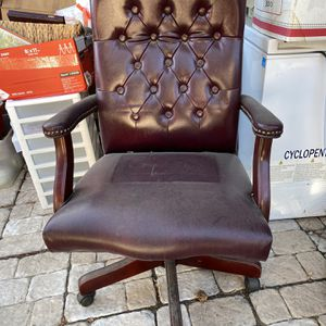 Leather Office Chair for Sale in Los Angeles, CA