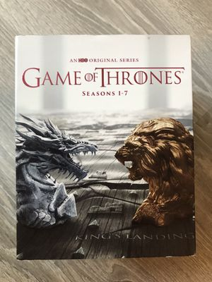 Game of Thrones Blu Ray (Seasons 1-7) for Sale in Bremerton, WA