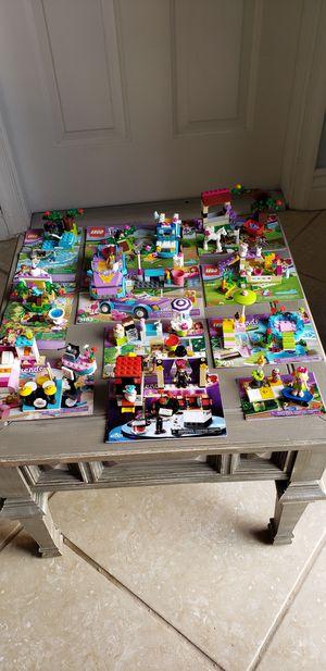 Lego Friends Lot Of 15 Sets for Sale in Pembroke Pines, FL
