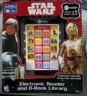 Star Wars Electronic Reaer & 8 Books for Sale in Washington, DC