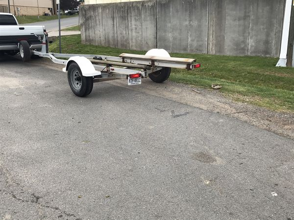 """Trailer boat. 21. """" new. Tires."""