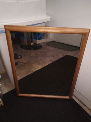 Wooden Frame Mirror for Sale in Greenbelt, MD