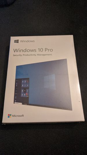 Microsoft Windows 10 Pro USB retail package sealed new for Sale in San Jose, CA