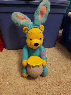 Disney Winnie the Pooh plush toy collectible with honey pot 16 inches for Sale in Irving, TX