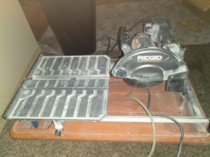Rigid 10 inch Table Saw for Sale in Seattle, WA