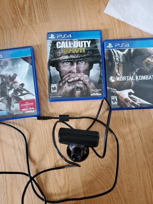 Ps4 games and camara for Sale in Sterling, VA